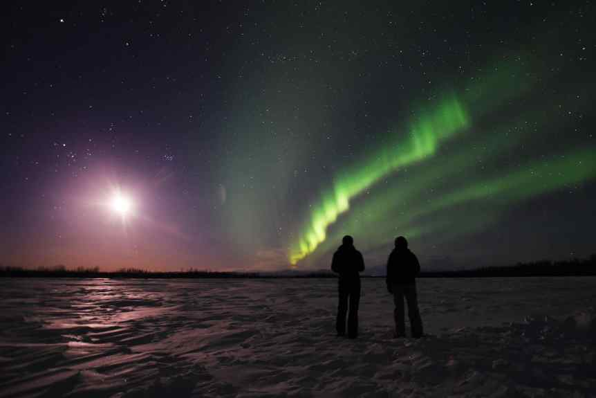Northern Lights in Alaska - Talkeetna – Paxson Woelber via Flickr