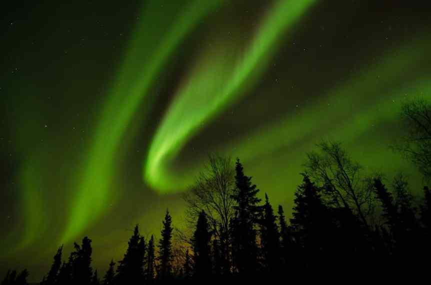 Northern Lights in Alaska - Wickersham Dome - FairbanksMike via Flickr