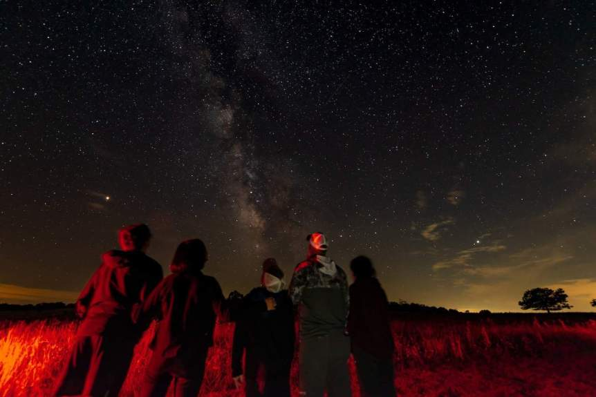 Stargazing near Washington D.C. -Shenandoah - Mary O'Neill for NPS