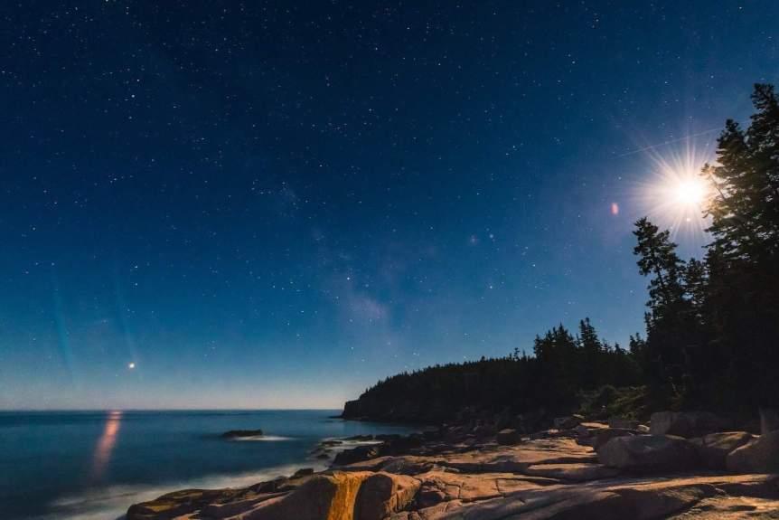 Mars & Moon - Eric Kilby via Flickr