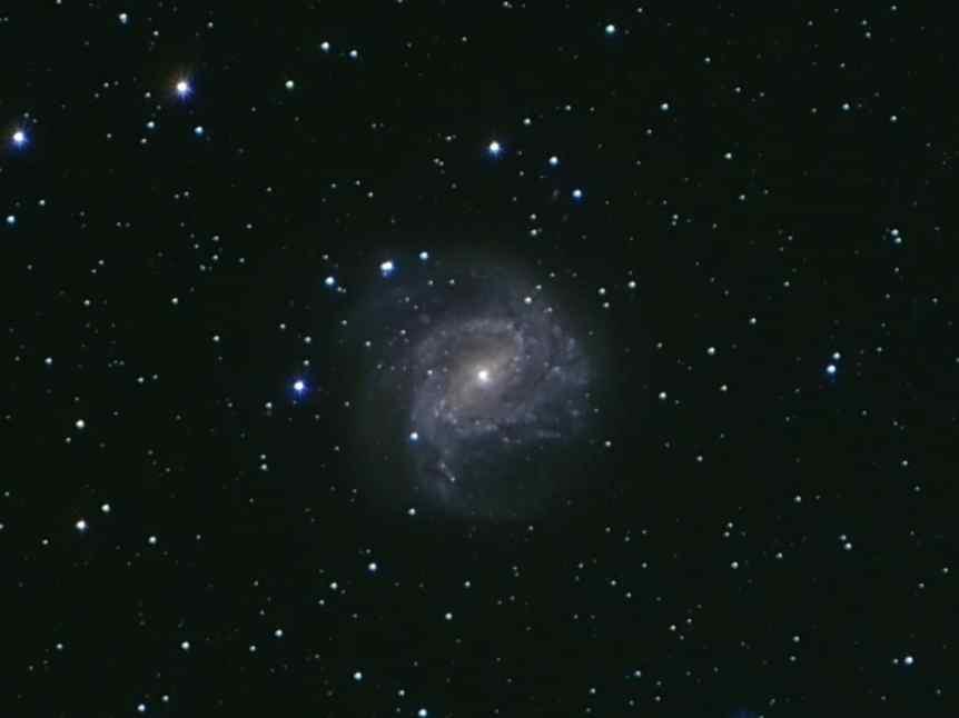 Southern Pinwheel Galaxy - Ben via Flickr