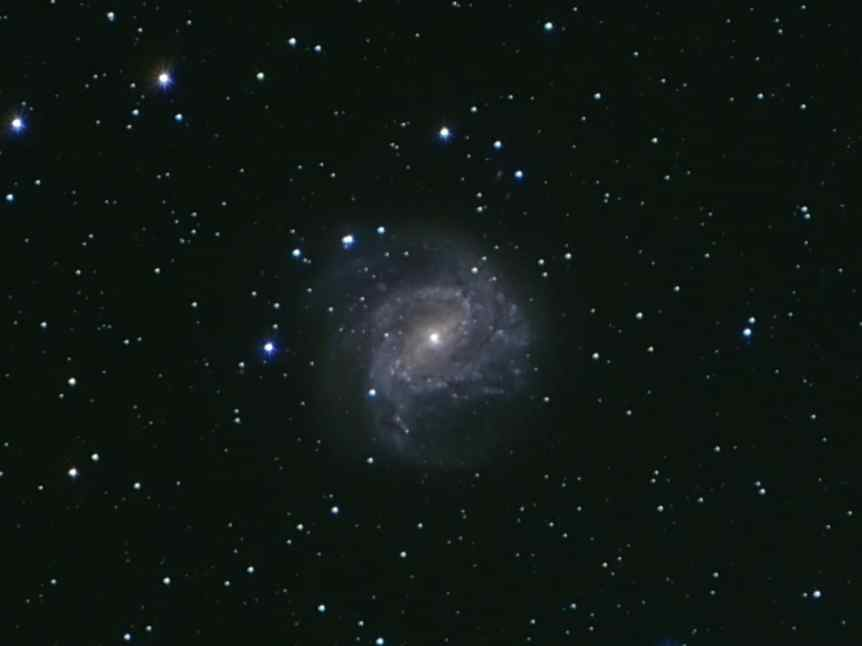 Southern Pinwheel Galaxy - Ben via Flickr