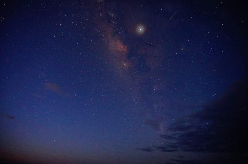 Stargazing in Hawaii