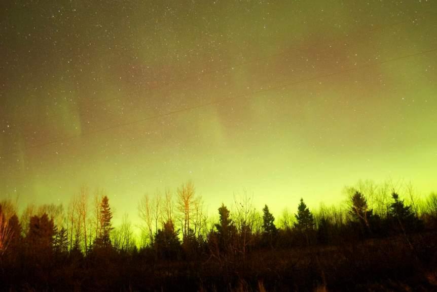 Northern Lights in Canada - New Brunswick - Nevin Williams via Flickr