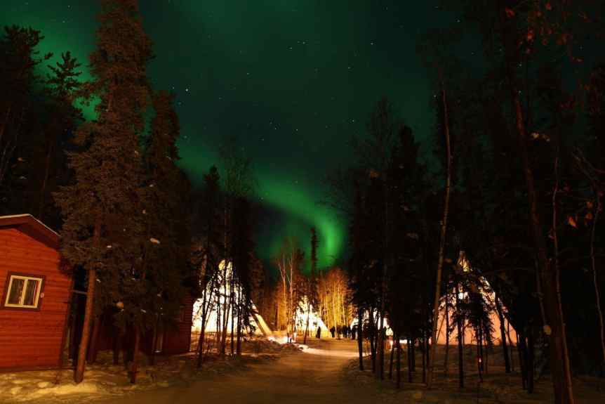 Northern Lights in Canada - Northwest Territories - GoToVan via Flickr