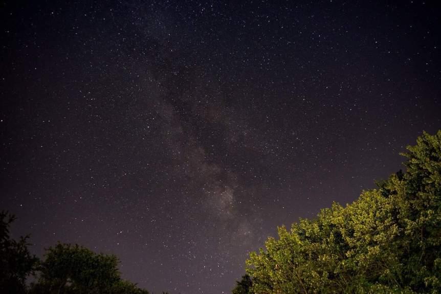 Milky Way in Western Pennsylvania - John Brighenti via Flickr