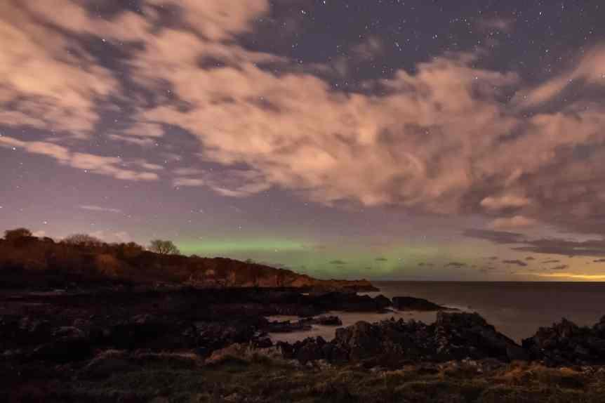 Northern Lights in Northern Ireland - Philip McErlean via Flickr