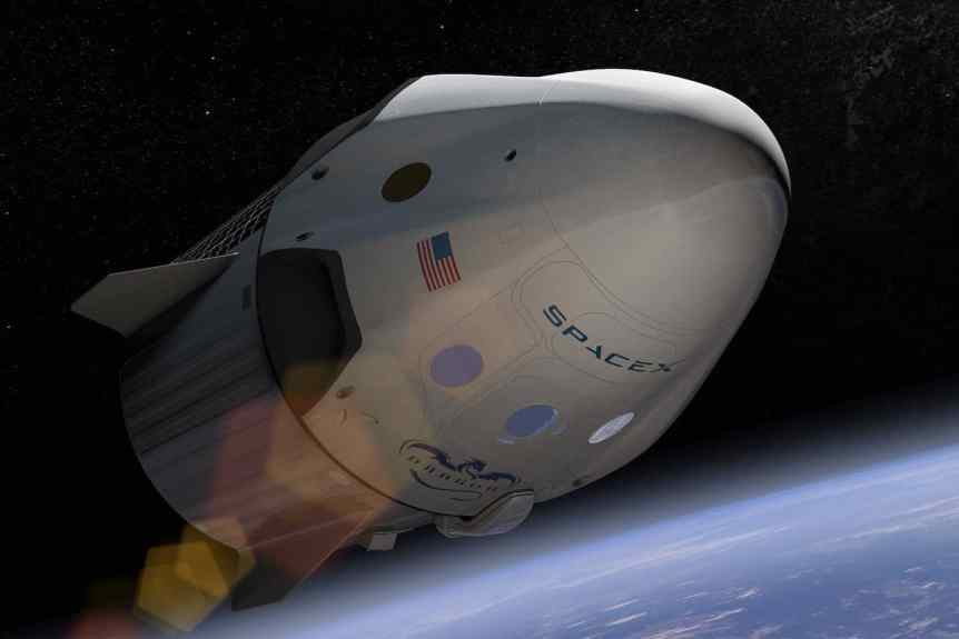 Space Tourism Companies - SpaceX - Crew Dragon