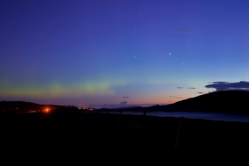 Northern Lights in Ireland - Greg Clarke via Flickr
