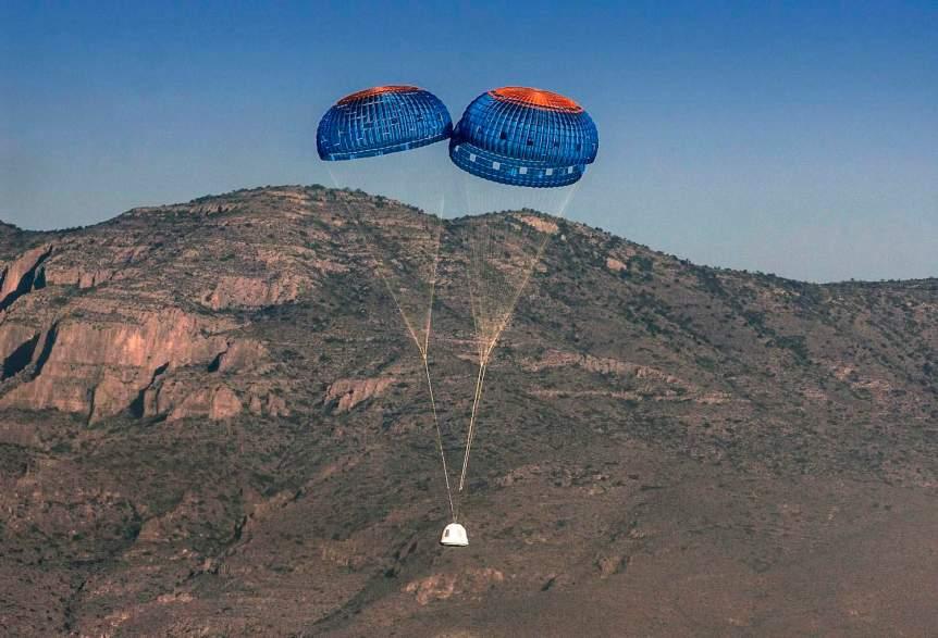 Blue Origin Company Profile - Capsule & Parachutes