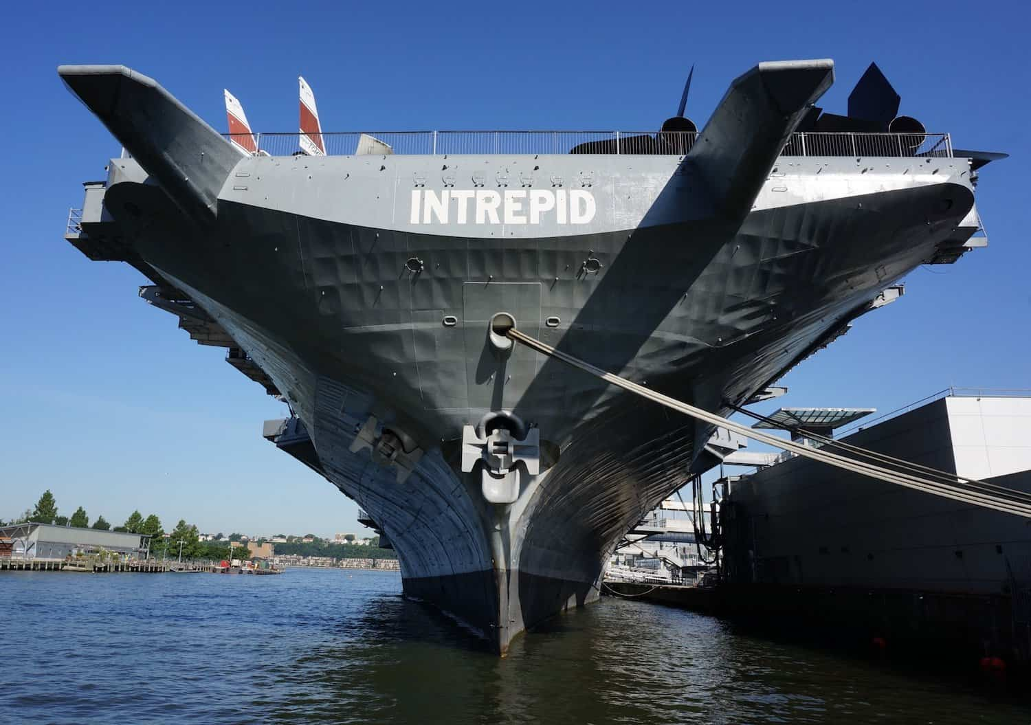 Space Shuttle Enterprise - USS Intrepid