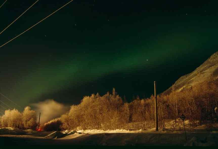 Northern Lights in Russia - Kirovsk - Aleksey Payusov via Flickr