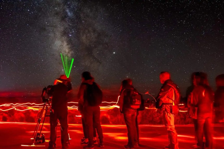 Ranger-Led Stargazing - NPS/William Pedro