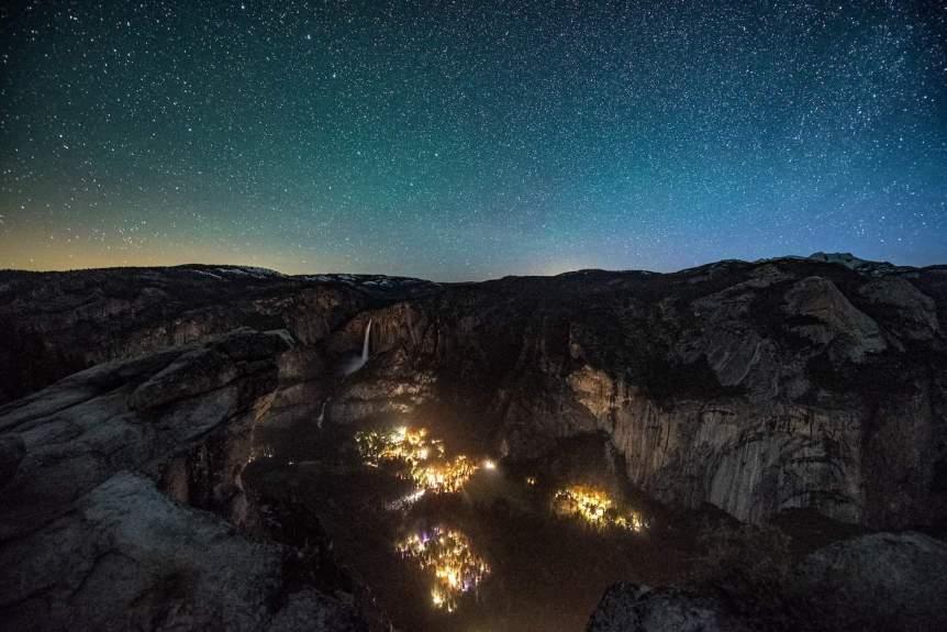 Yosemite Stargazing - Valley View