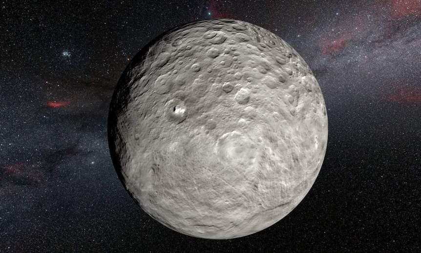 Night Sky in 2021 - Ceres - ESO via Flickr