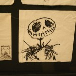 Napkin Art - Jack Skellington