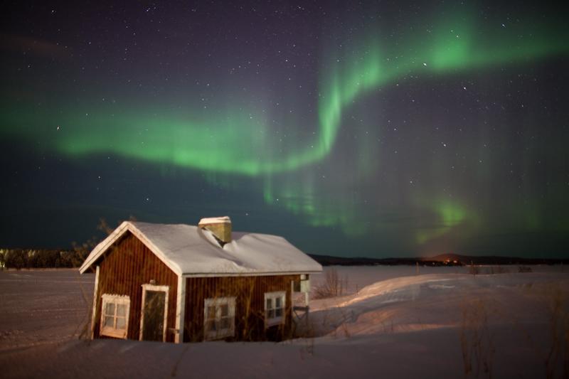 Northern Lights Finland Best Time