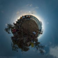 Little Planet Total Eclipse