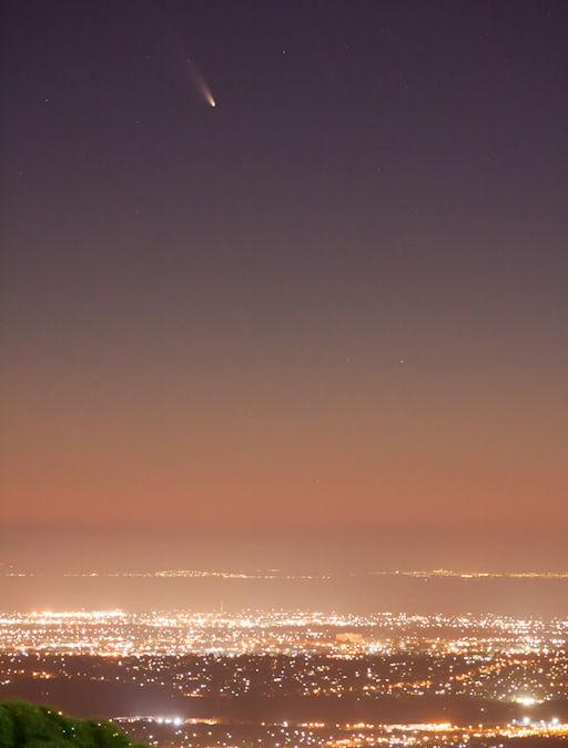 Comet Pan-STARRS   Brian A. Klimowski - Sky & Telescope