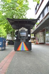 The Personal Power Company installation at the Tollbooth Gallery is on Broadway just north of S 11th in downtown Tacoma.