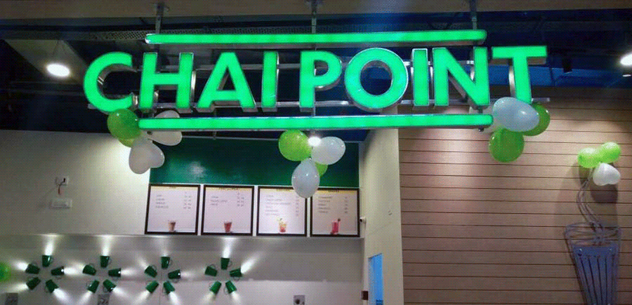 tea and food joints leased in gurgaon to chai point cafeteria