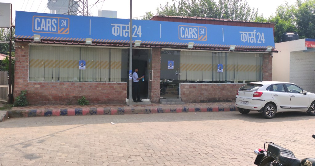 car sale shops leased in gurgaon faridabad and new delhi to cars24