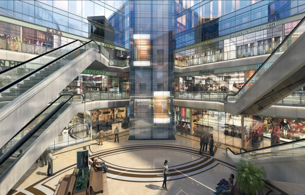 shop for sale in noida paras One33 real estate complex