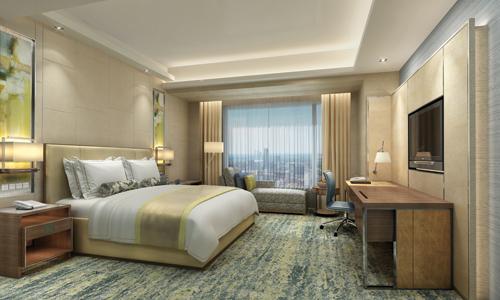 香格里拉大酒店揭幕松花江北畔