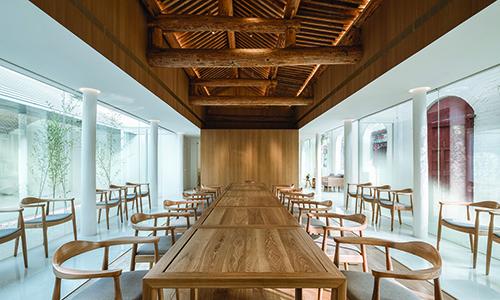Layering Courtyard Hutel Qianmen