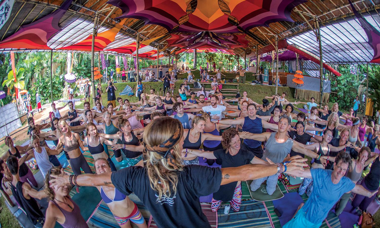 巴厘之灵瑜伽节