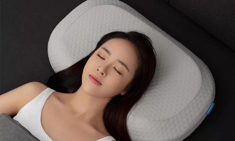 乐伽AI智能颈椎按摩睡眠枕