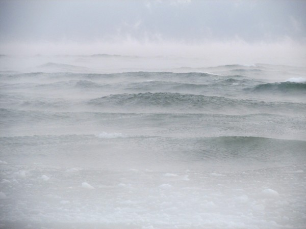 Stormy Lake Ontario has been known to wreck ships