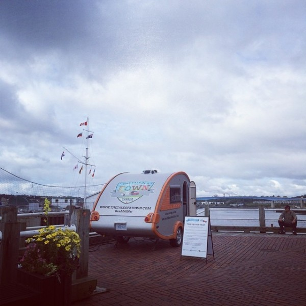 The Storymobile in Saint John, New Brunswick