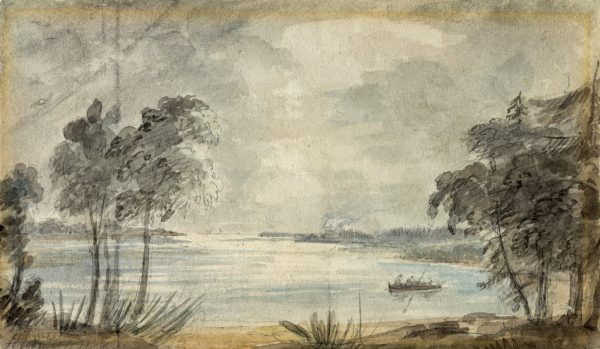 Toronto Bay, 1793 by Elizabeth Simcoe