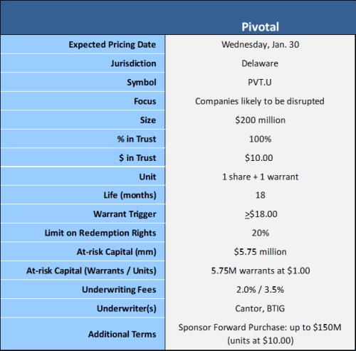 Pivotal terms 1-30-19