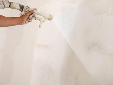 Spackspuiten van uw wanden en plafonds