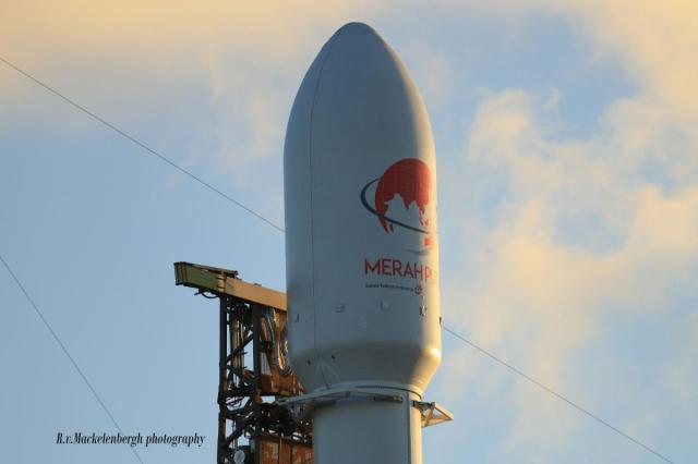 Rob v. Mackelenbergh  - SpaceX  Merah Putih