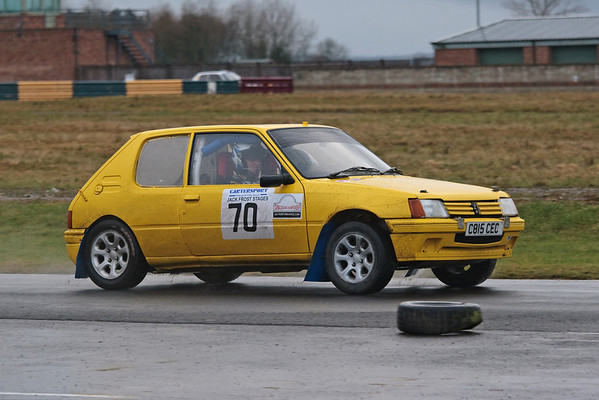 Richard Clark on the Jack Frost Stages 2011
