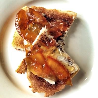 marmalade and toast
