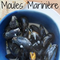 Foraged Food - Moules Marinière
