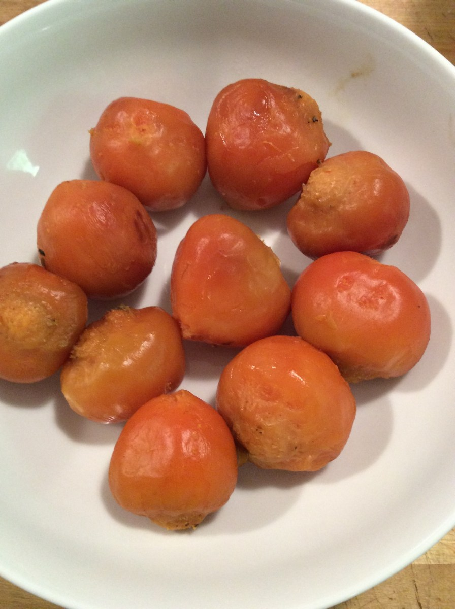 roast red and golden beets