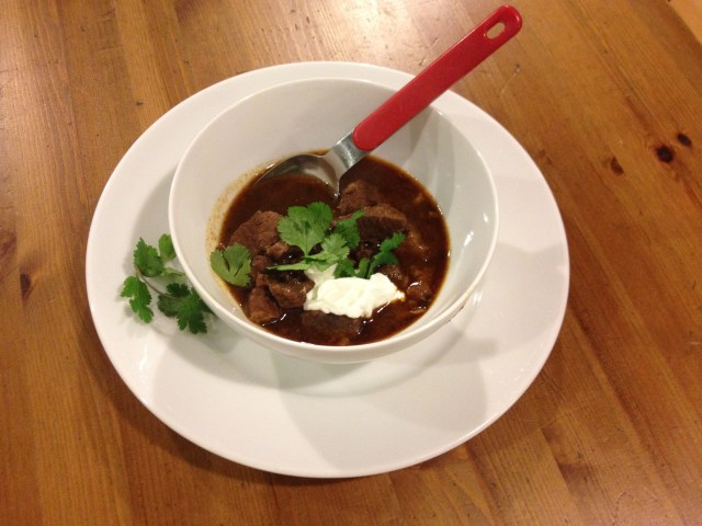 Beef Chili from Texas
