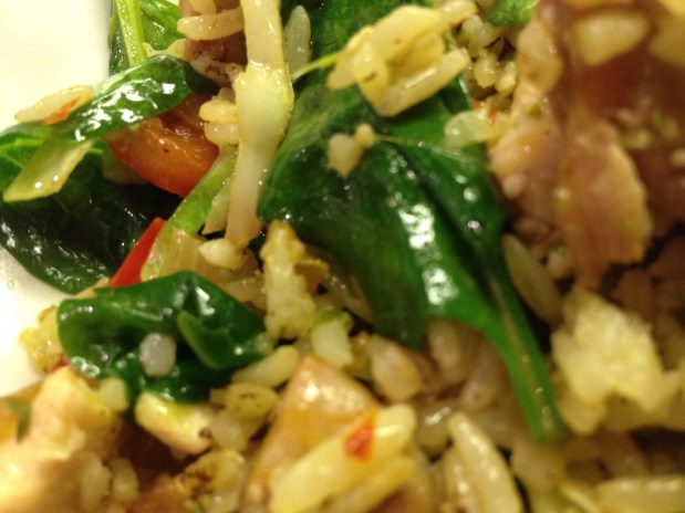 January in the Kitchen – Italian Fried Rice