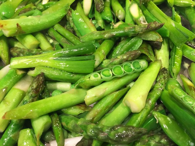 Asparagus with Snap Peas