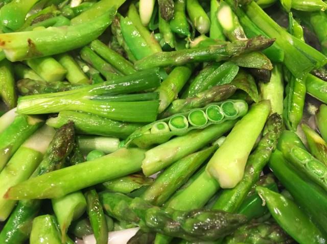 Asparagus with Snap Peas