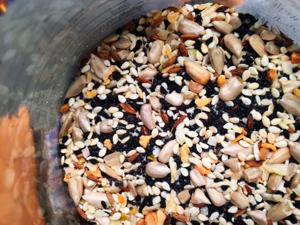 April in the Kitchen – Seedy Seasoning Mix