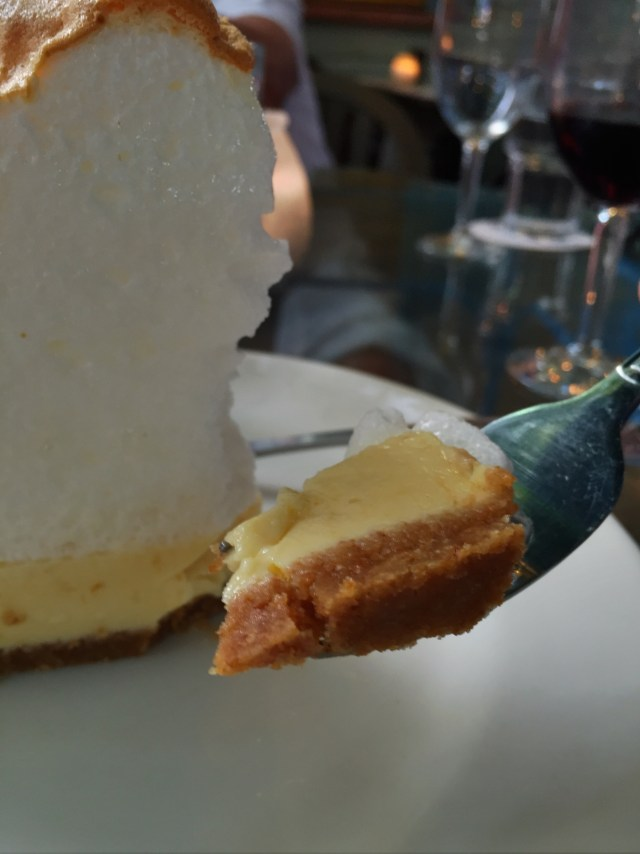 Mile High Key Lime Pie - going