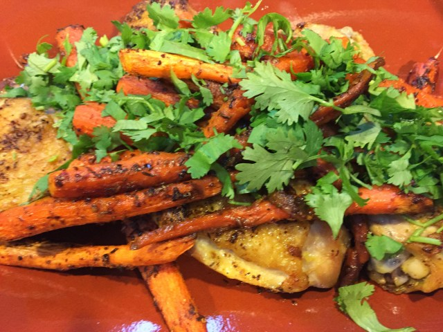 Chicken and Carrots with Cumin, Coriander, and Turmeric
