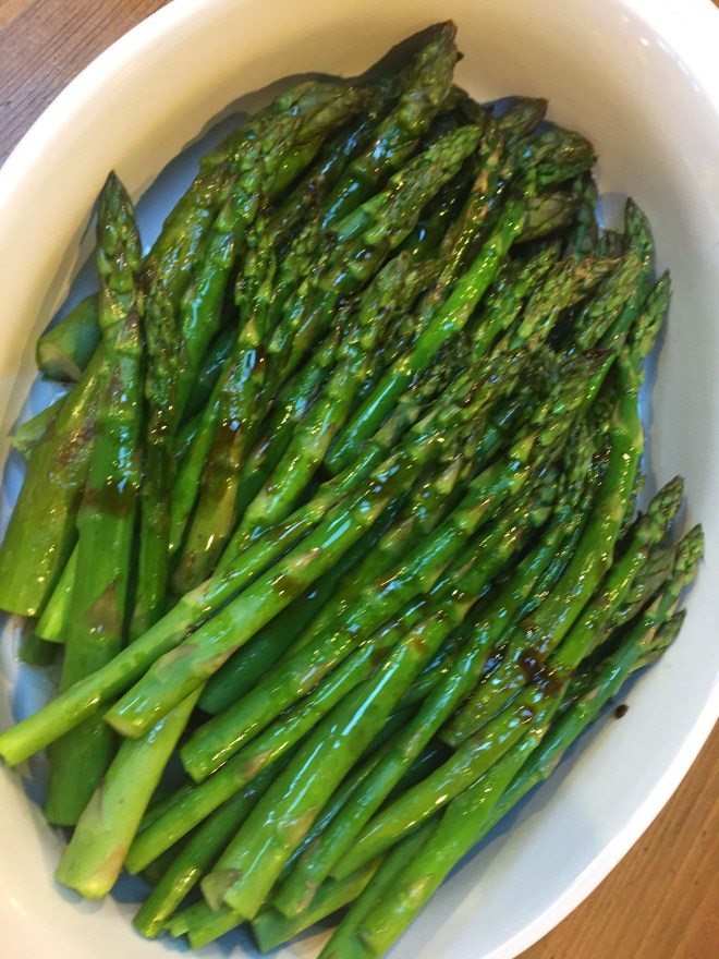 Asparagus with 4 Ingredient Chinese Sauce