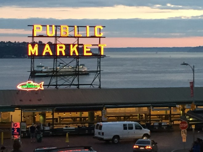 Seattle, Pike's Place Market
